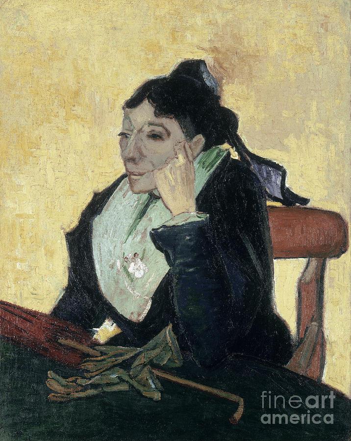 1888 Painting - Van Gogh Larlesienne 1888 by Granger