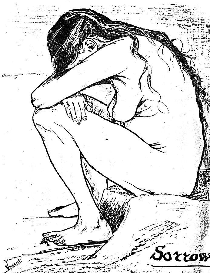 1882 Painting - Sorrow, 1882 by Vincent Van Gogh