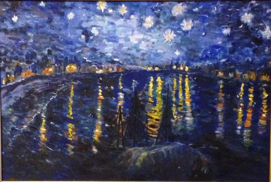 Vincent Van Gogh The Paintings Starry Night