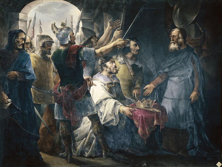Painting Photograph - Van Halenfrancisco De Paula 1810-1887 by Everett
