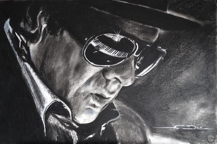 Van Morrison Belfast Cowboy Drawing By Eric Dee