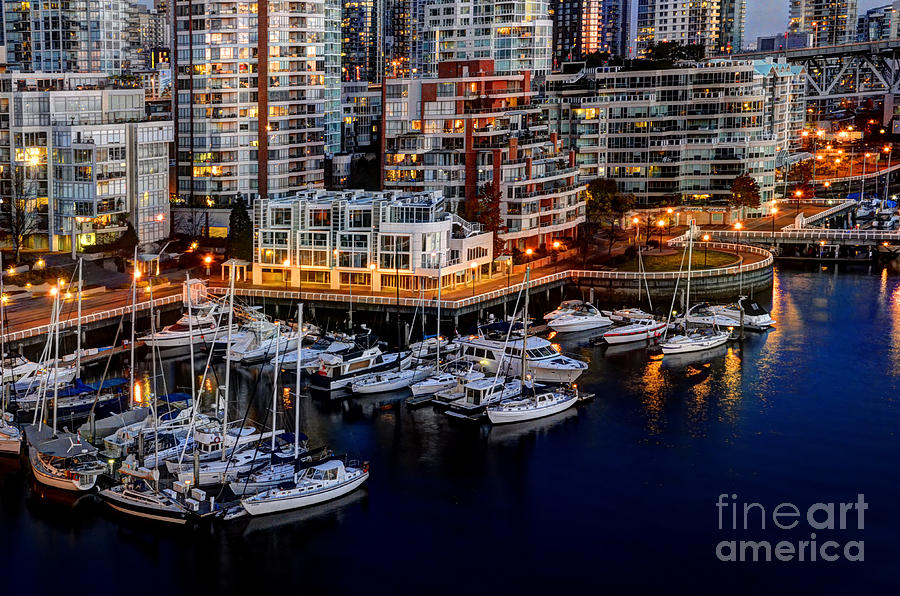 Vancouver Photograph - Vancouver British Columbia 10 by Bob Christopher