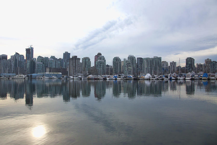 Vancouver Photograph - Vancouver Cityscape  by Joanna Madloch