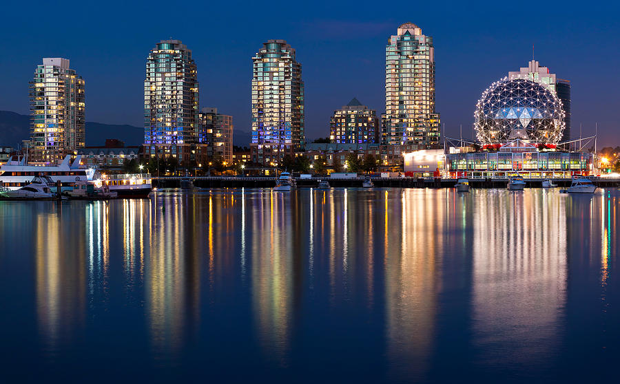 Vancouver Photograph - Vancouver Postcard by Alexis Birkill