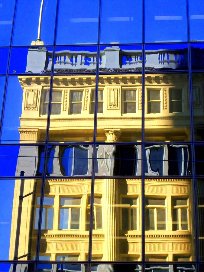 Vancouver Photograph - Vancouver Reflections 2 by Randall Weidner