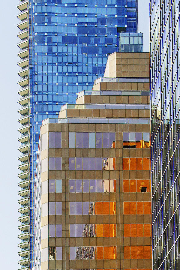Architecture Photograph - Vancouver Reflections No 1 by Ben and Raisa Gertsberg