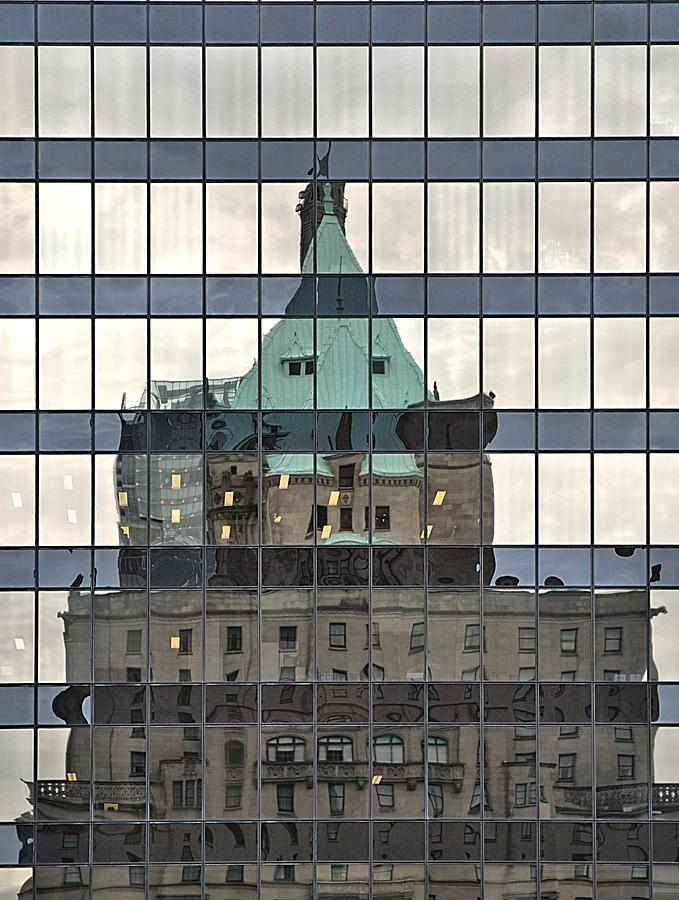 Vancouver Photograph - Vancouver Reflections by Steven Richman