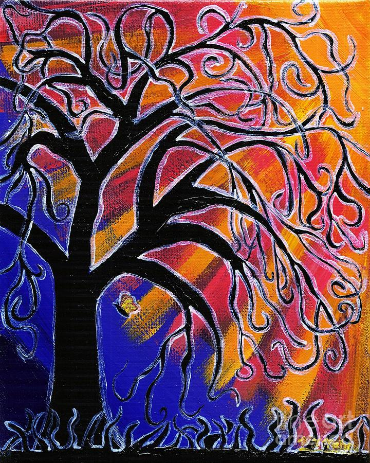 Tree Painting - Vanessa by Vicki Maheu
