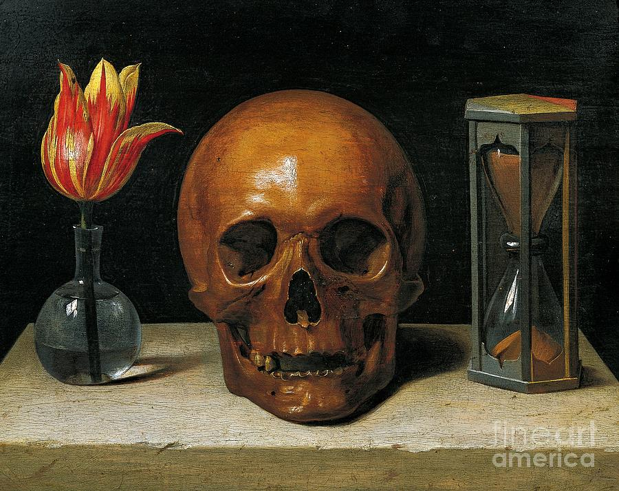 Death Painting - Vanity by Philippe de Champaigne