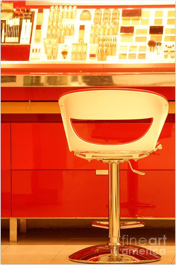 Vanity Red Photograph by Vishakha Bhagat