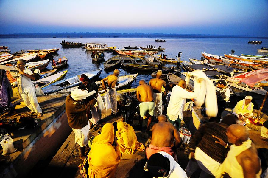 India Photograph - Varanasi Dawn by Money Sharma