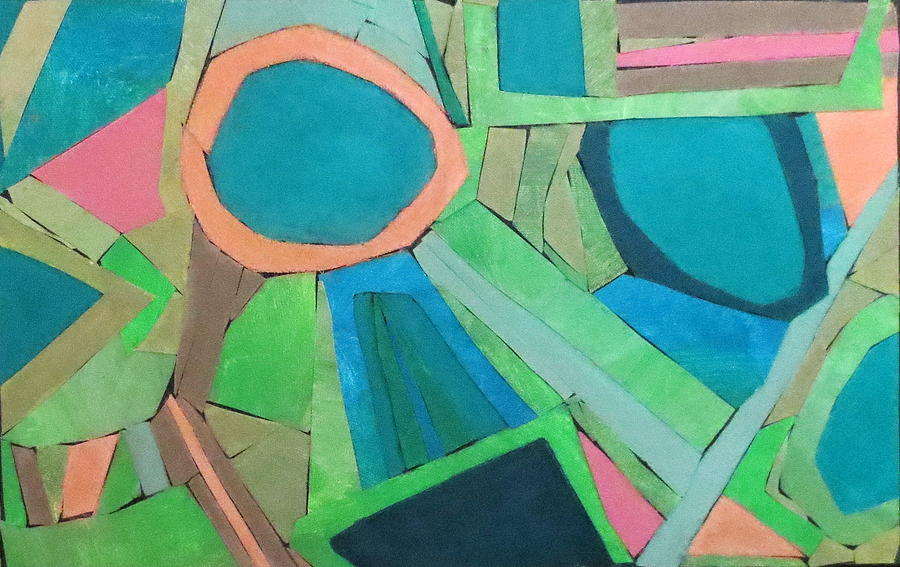 Abstract Mixed Media - Variation by Diane Fine