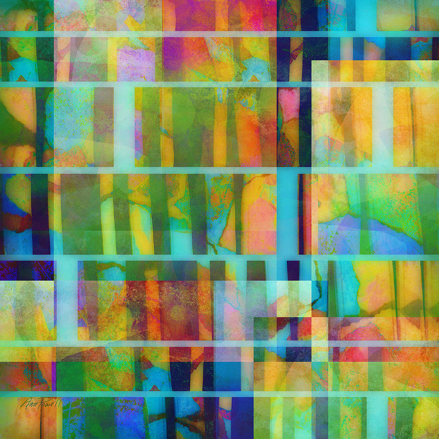 Abstract Painting - Variation On A Theme Abstract Art by Ann Powell