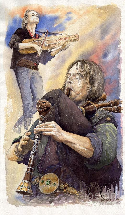 Watercolour Painting - Varius Coloribus 1 by Yuriy Shevchuk