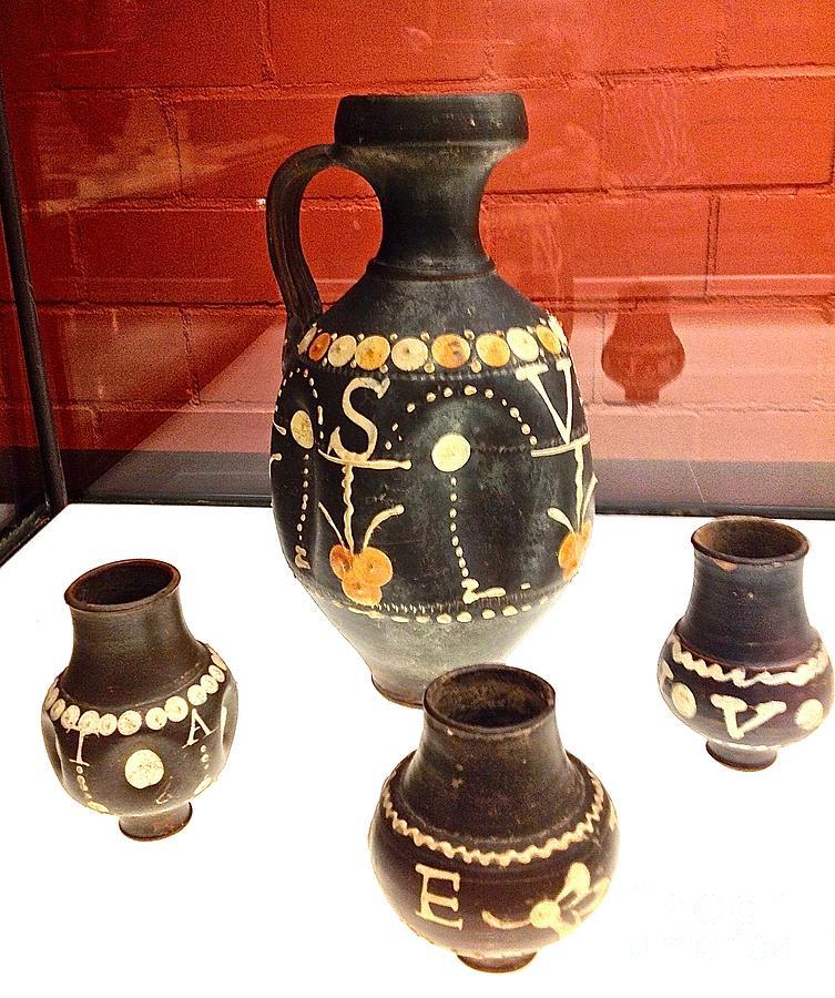 Vases Ancient Photograph By John Potts