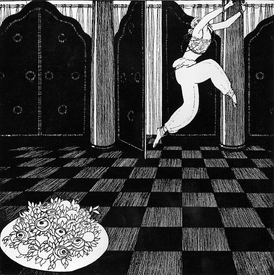 Ballet Painting - Vaslav Nijinsky In Scheherazade by Georges Barbier