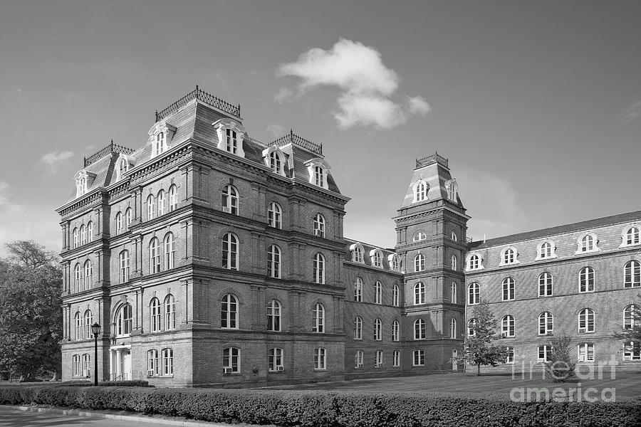 Main Building Photograph - Vassar College Main Building by University Icons
