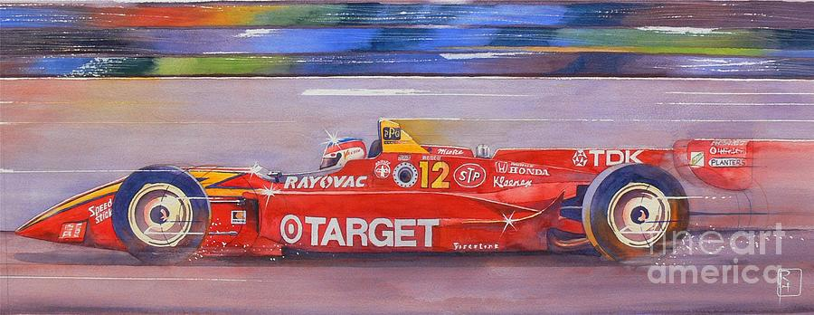 Watercolor Painting - Vasser by Robert Hooper
