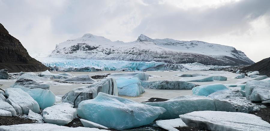Vatnajokull Glacier, Iceland Photograph by Travelpix Ltd