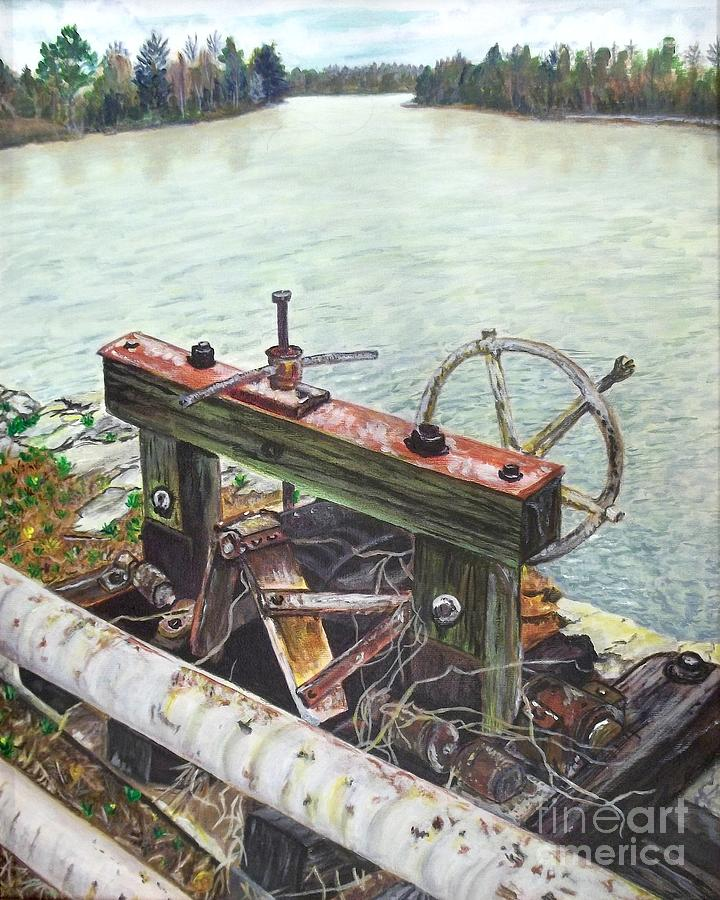 Waterscape Painting - Vaucluse Valve by Frank Giordano