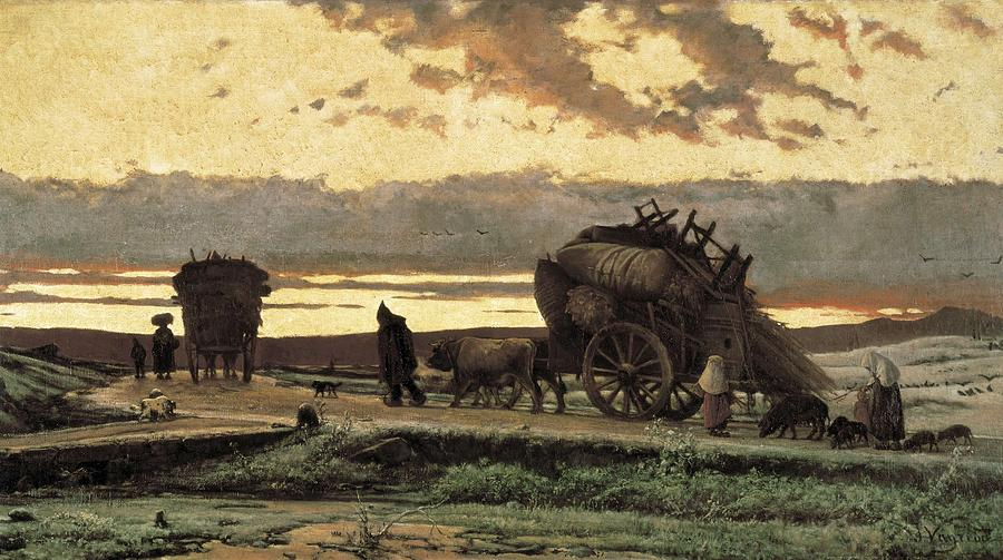 Horizontal Photograph - Vayreda I Vila, Joaquim 1843-1894 by Everett