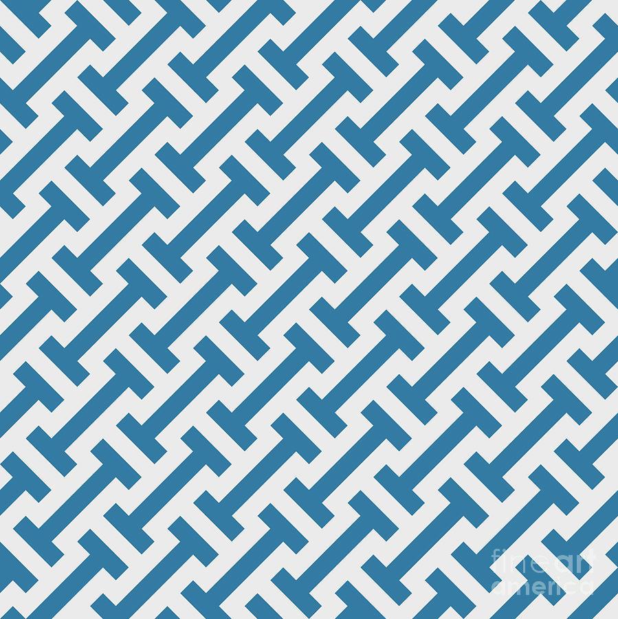 Simple Digital Art - Vector Geometric Pattern. Seamless by Rodin Anton