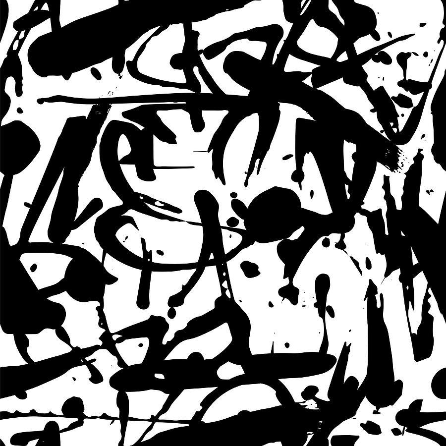 Vector Graffiti Seamless Pattern With Digital Art by Vanzyst