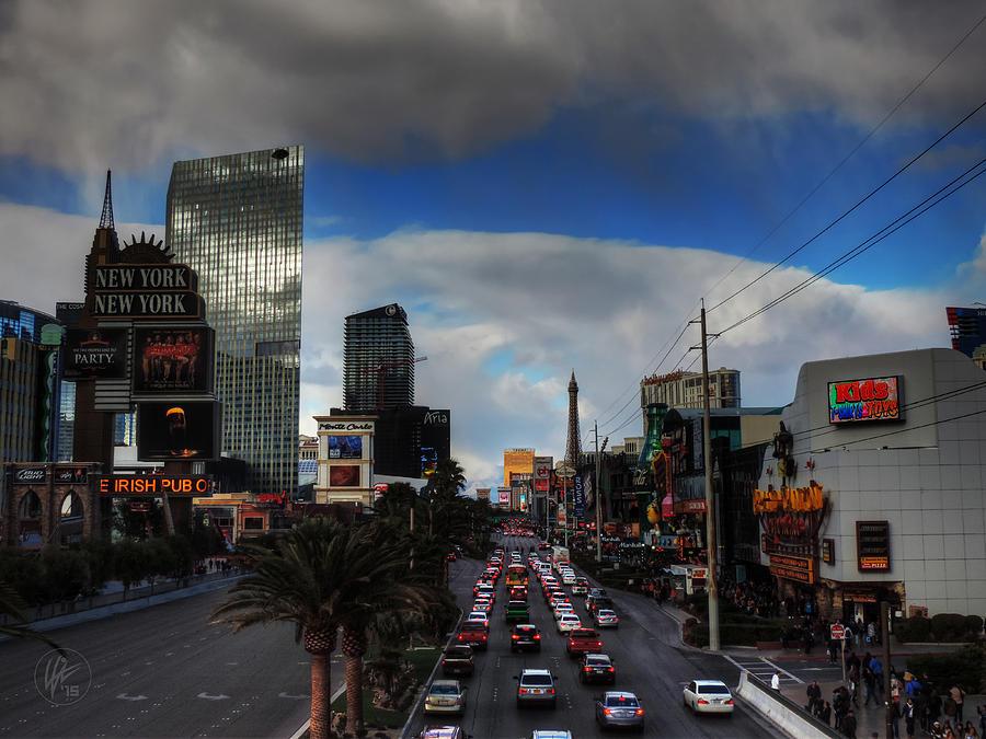 Las Vegas Photograph - Vegas Strip 002  by Lance Vaughn