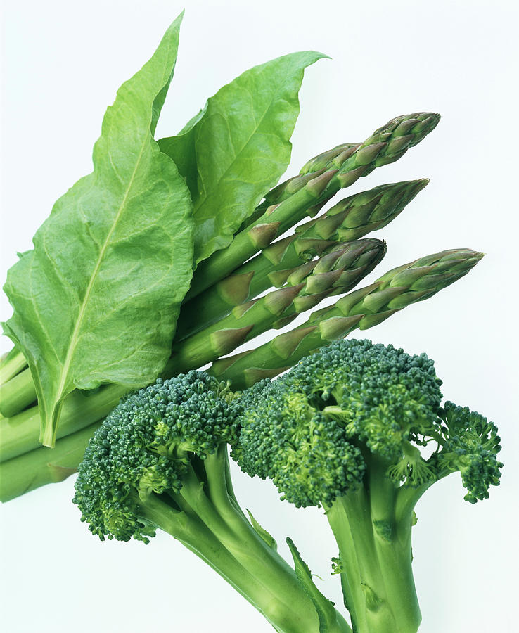 Broccoli Photograph - Vegetables by Sheila Terry/science Photo Library