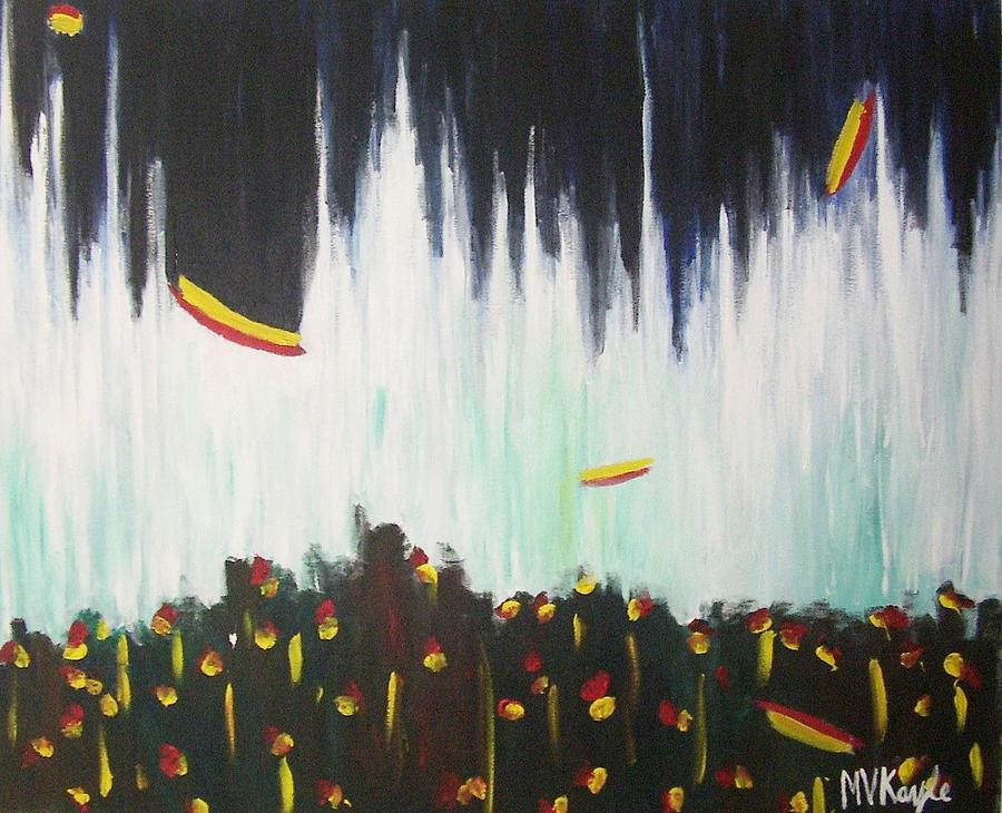 Marten Kayle Painting - The Veil by Marten Kayle