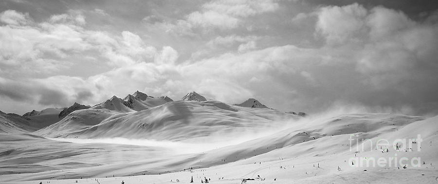 Mountains Photograph - Veil Of Clouds by Camilla Brattemark