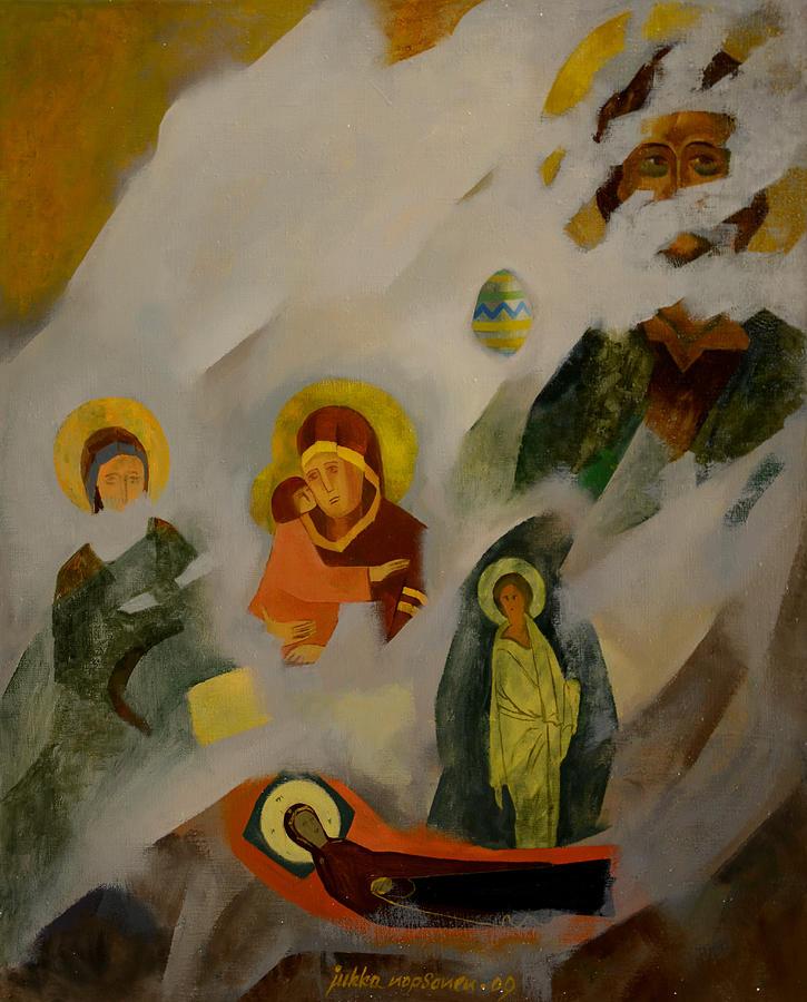 Easter Painting - Veiled by Jukka Nopsanen