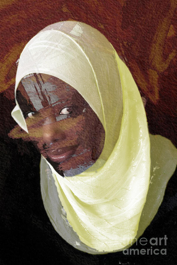 African Women Photograph - Veiling Mama Africa by Morris Keyonzo
