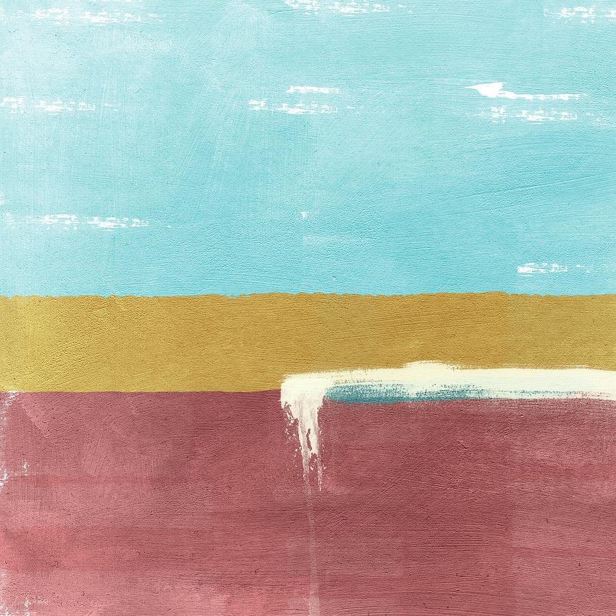 Velvet Horizon- Abstract Landscape Painting