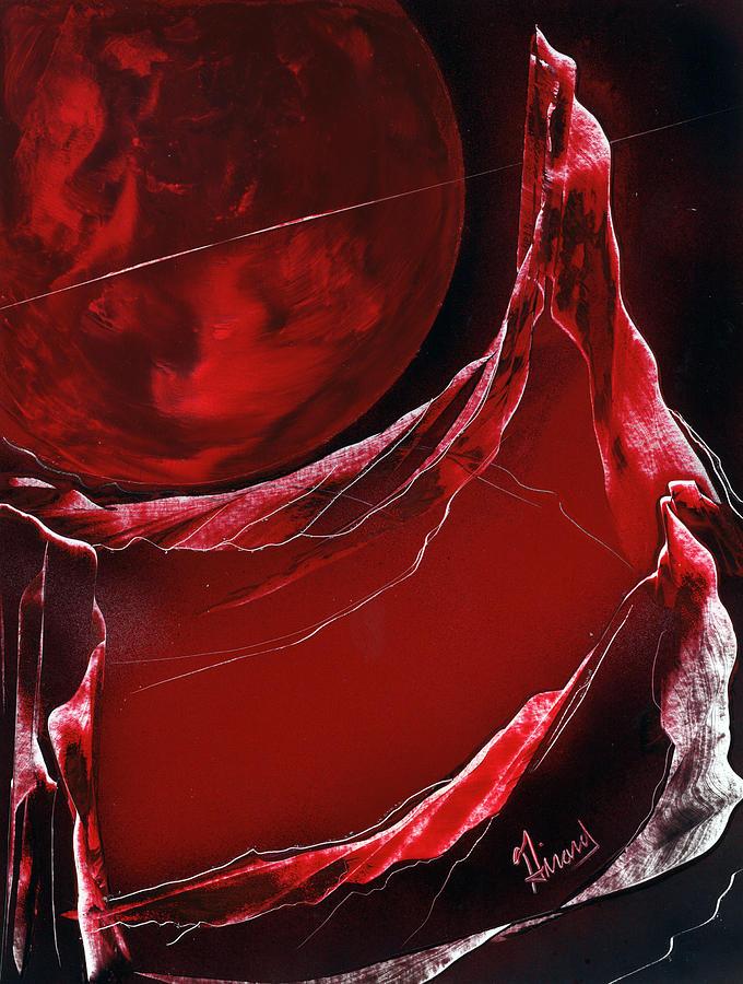 Spacescape Painting - Velveteer by Jason Girard