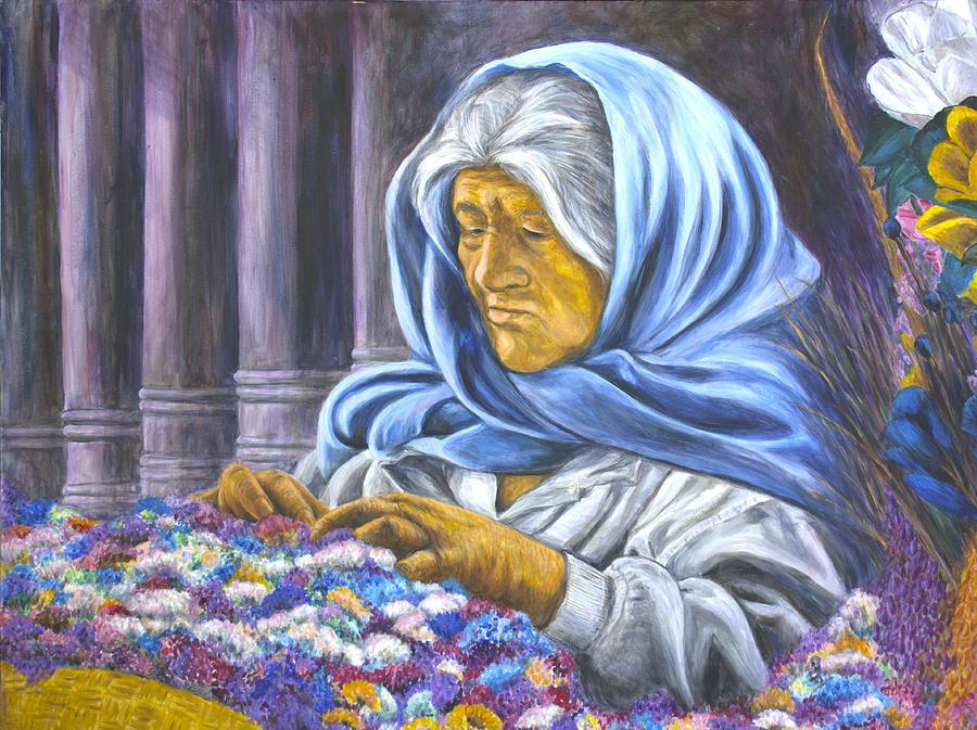 Vendedora de la Flor by Pat Haley