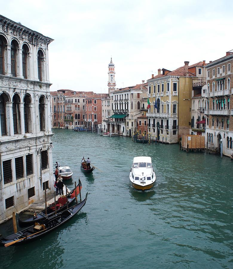 Italy Photograph - Venetian Canal  by Kristine Bogdanovich