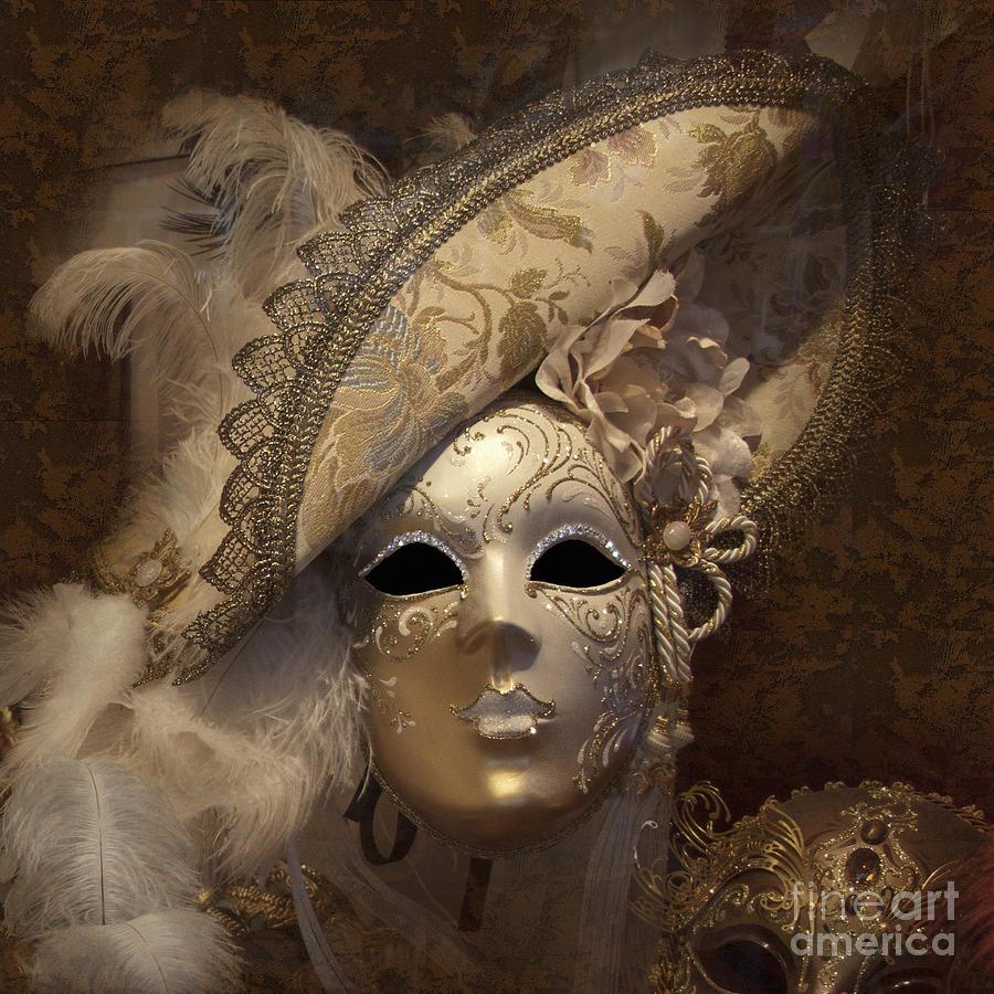 Venetian Face Mask F Photograph By Heiko Koehrer Wagner