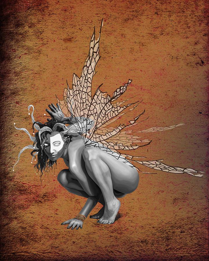 Cirque Du Soleil Digital Art - Venetian Fairy by Kd Neeley