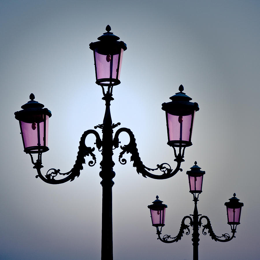 venetian lamps photograph by dave bowman
