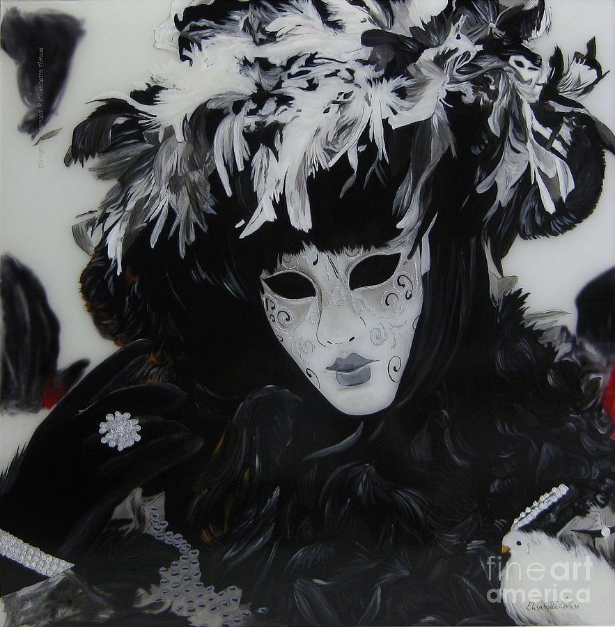 Venice Painting - Venetian Mask by Betta Artusi