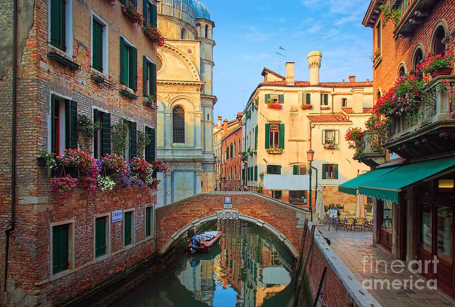 Europe Photograph - Venetian Paradise by Inge Johnsson