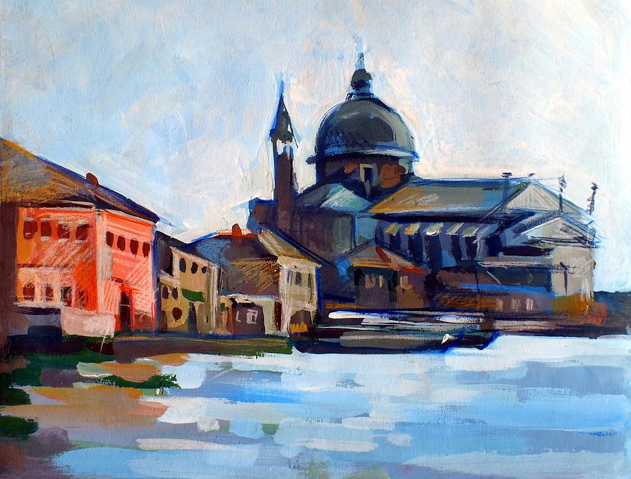 Shoreline Painting - Venetian Shoreline by Filip Mihail