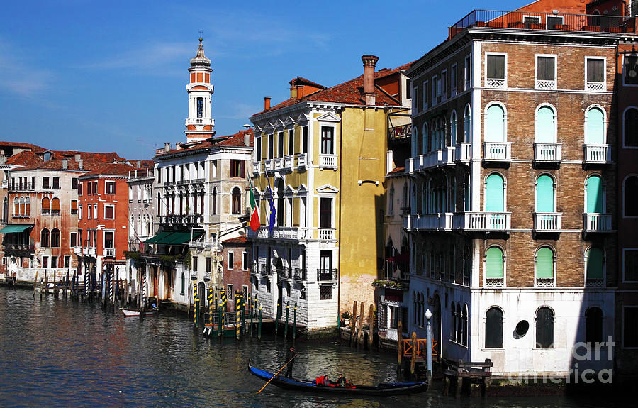 Venice Buildings Photograph - Venezia Colors by John Rizzuto