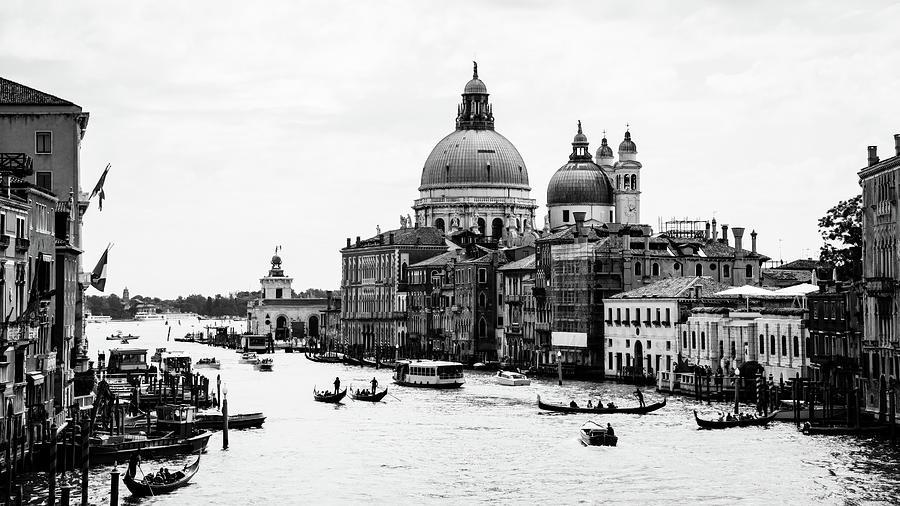 Venezia Grand Canal Photograph by Bighignoli Michele