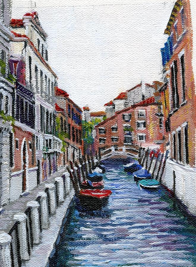 Venice Painting - Venezia by Thomas Michael Meddaugh