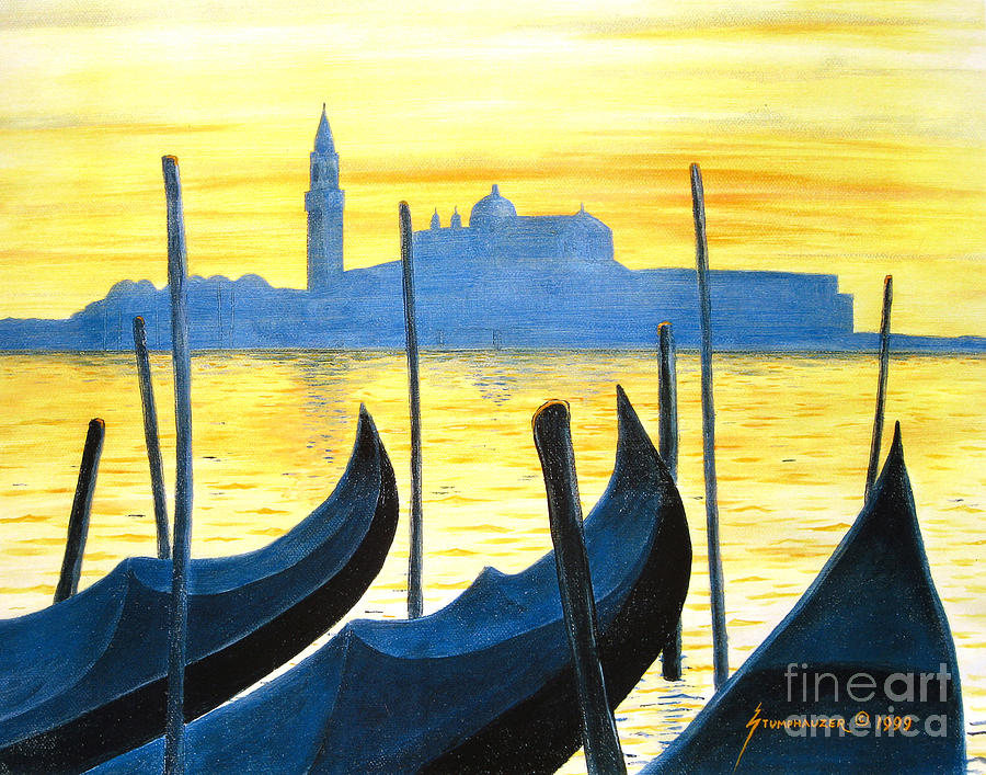 Venice Painting - Venezia Venice Italy by Jerome Stumphauzer