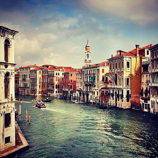 Venezia Photograph - #venezia #venice #italy by Luisa Azzolini