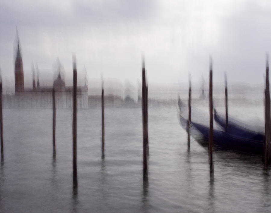 Venice photograph abstract black and white blue venice italy photography art work by artecco fine