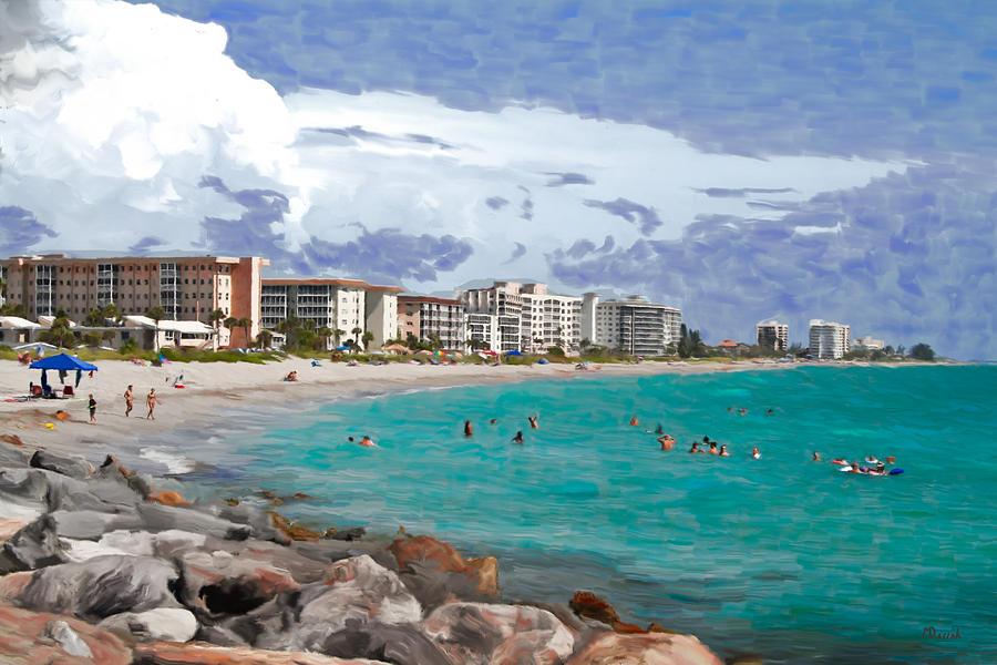 Artwork Of Venice Beach Florida